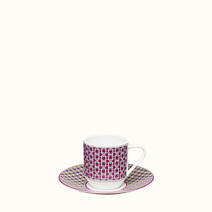 Tie Set coffee cup and saucer