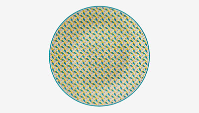 Tie Set bread and butter plate -