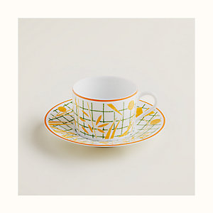 A Walk in the Garden tea cup and saucer