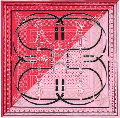 Grand Manege Bandana Love scarf 70
