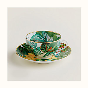 Passifolia breakfast cup and saucer