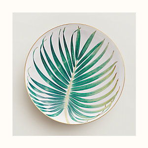 Passifolia round deep platter, large model