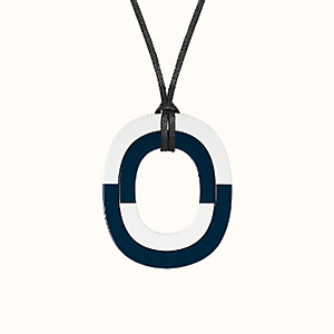 Isthme colorlock pendant, small model