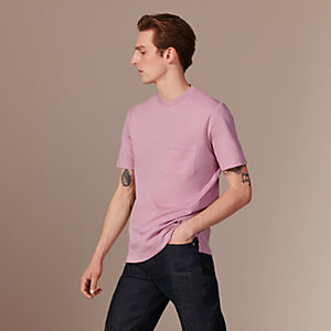 H embroidered T-shirt