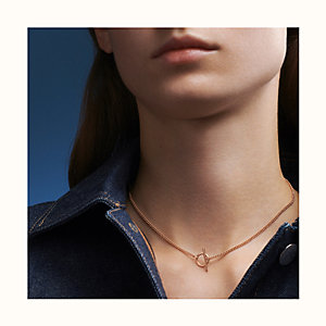 Echappee Hermes necklace, small model