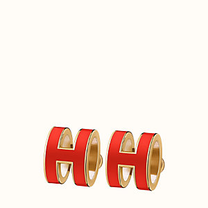 Pop H earrings