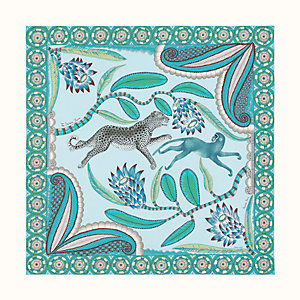 The Savana Dance wash scarf 140