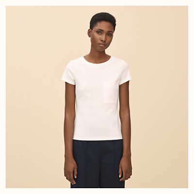 Embroidered pocket t-shirt -