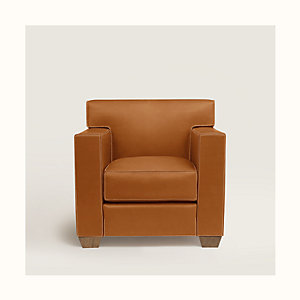 Reeditions J.-M. Frank par Hermes Comfortable club armchair
