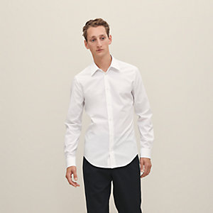 """Hermes en Vrac"" slim cut shirt"