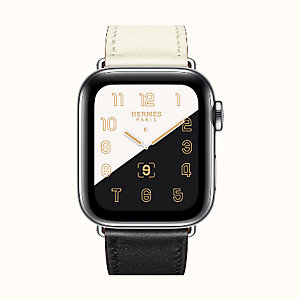 Series 5 case & Band Apple Watch Hermès Single Tour 40 mm