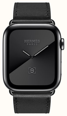 Series 5 case Space Black & Band Apple Watch Hermes Single Tour 44 mm
