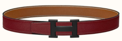 5382 belt buckle & Reversible leather strap 32 mm