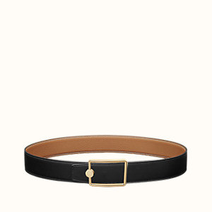 Oscar belt buckle & Reversible leather strap 38 mm