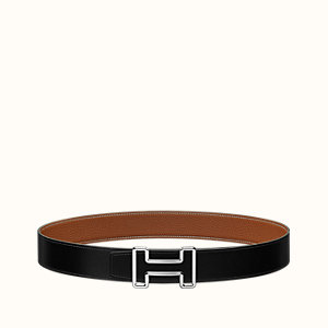 Tonight belt buckle & Reversible leather strap 38 mm