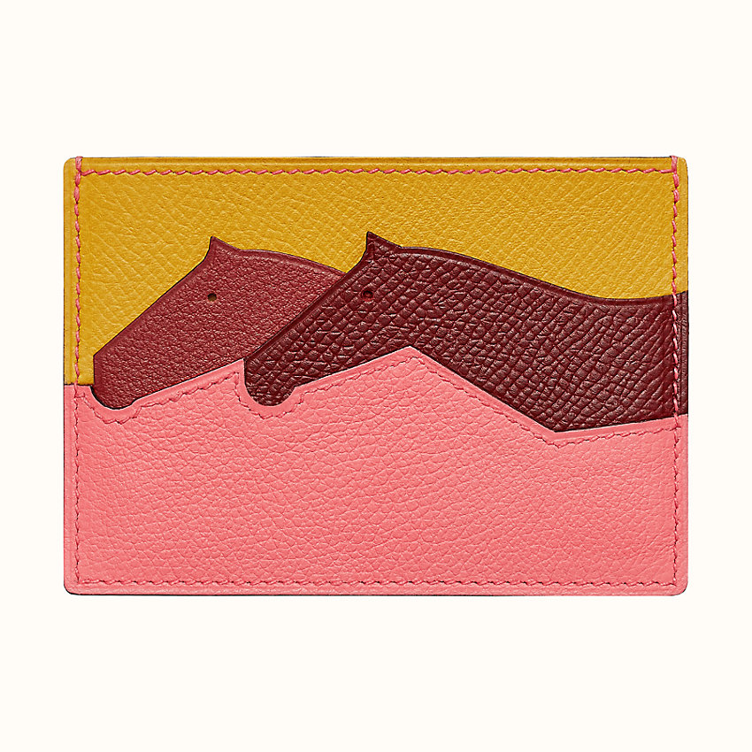zoom image, Les Petits Chevaux card holder