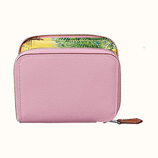 Silk'in compact wallet - front