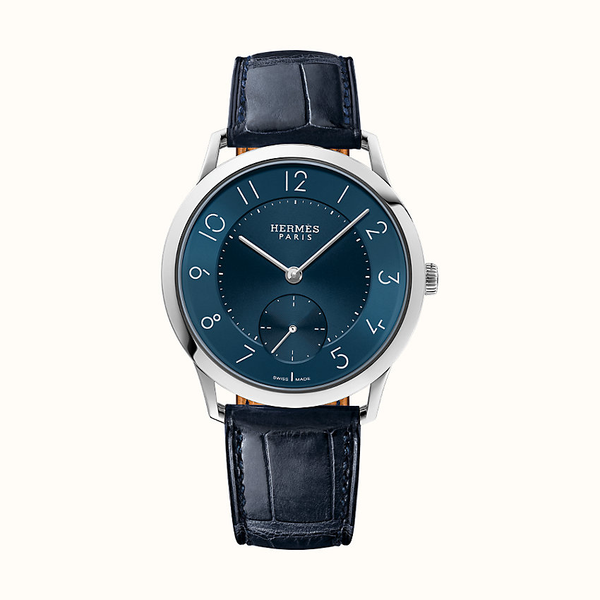 zoom image, Slim d'Hermes Manufacture watch, 39.5 mm