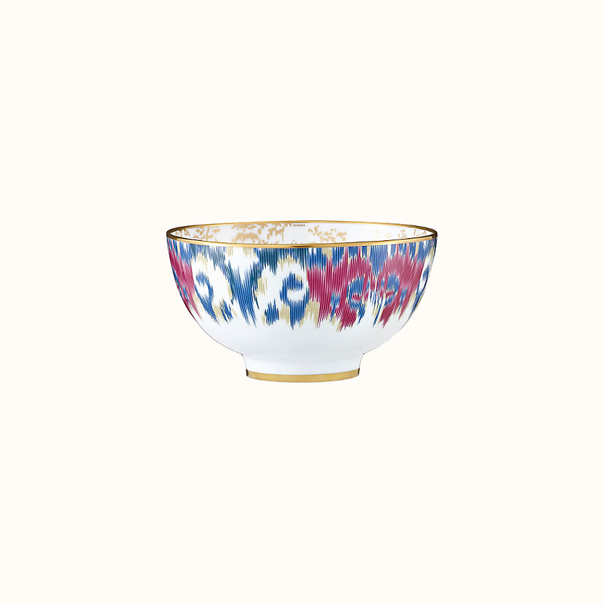 zoom image, Voyage en Ikat bowl, large model